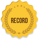 Record Badge Icon