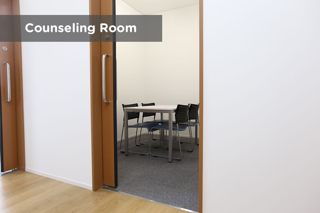 earth institute counseling room
