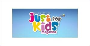 Just for Kids Magazine logo
