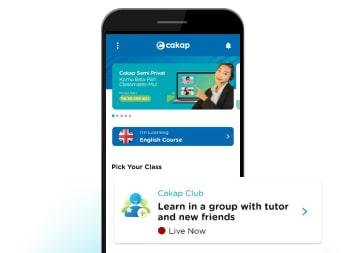 Homepage Cakap - Pilih Cakap Club